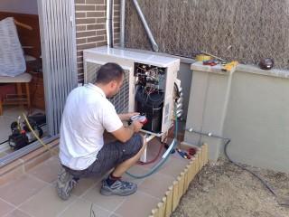 instalación Hiyasu Inverter del modelo Tropic 3x1