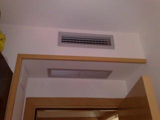 Rejas decorativas de aire acondicionado