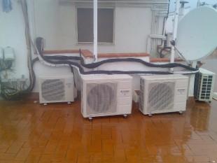 Instalación de varios compresores Hiyasu Inverter