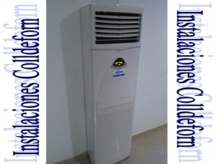 Unidad interior suelo vertical Mundoclima 10,5KW para salas grandes