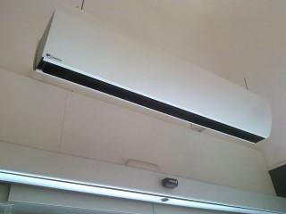 cortina de aire 3.200m3-H Para entrada de tienda de ropa