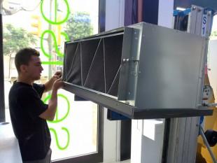 Hiyasu Inverter conductos local comercial 14KW