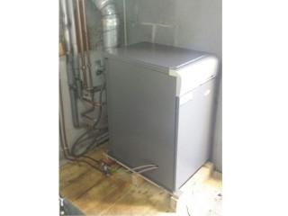 Caldera Domusa gasoil de 30KW mixte e instantánea para casa unifamiliar