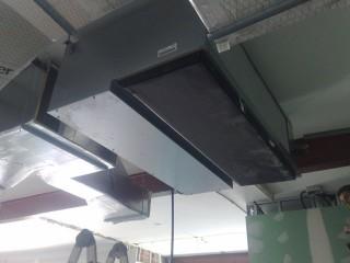 Instalación de equipos Panasonic inverter industriales con conductos