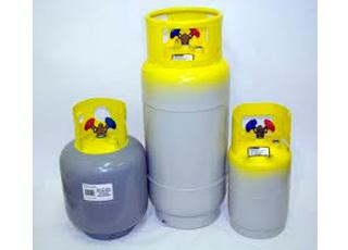 Bombonas Recuperación de gases fluorados